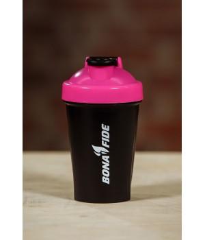 "Bona Fide: Shaker ""Black & Pink"" 400 мл"