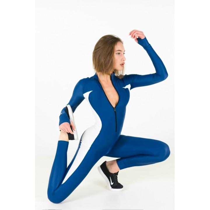 """Комбинезоны Bona Fide: Elite Body """"Total Blue & White"""""""