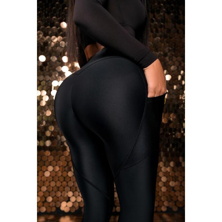 "Лосины Bona Fide: Valkyria Strip Skin ""Black"""