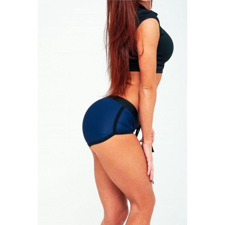 "Шорты Bona Fide: Shorts ""Total Blue & Black"""
