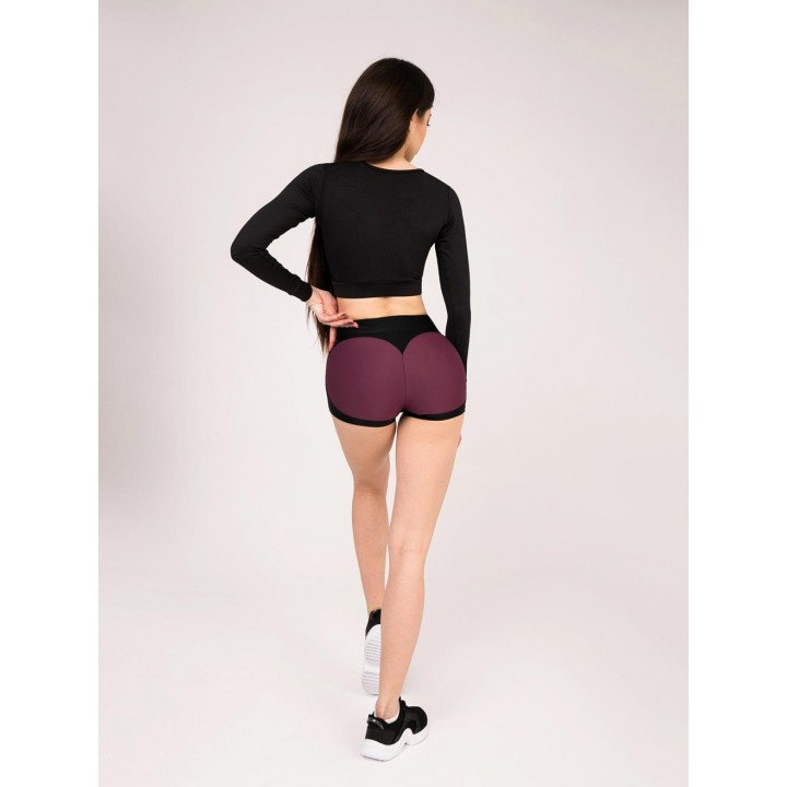 "Шорты Bona Fide: Mega Shorts ""Cherry & Black"""
