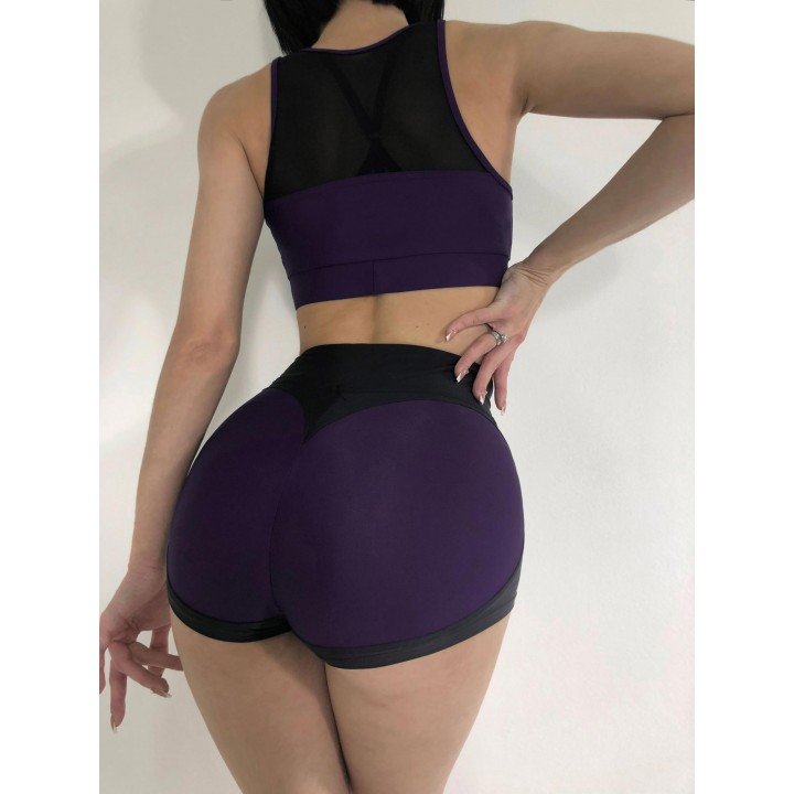"Шорты Bona Fide: Mega Shorts ""Dark Purple & Black"""