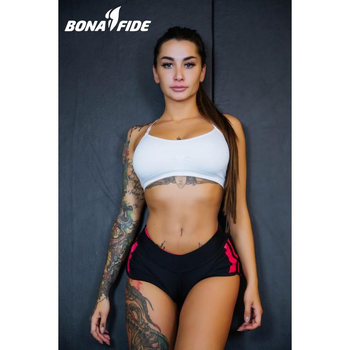 "Шорты Bona Fide: FuckNike Shorts ""Black & Red"""