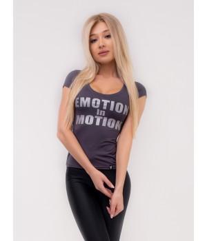 "Bona Fide: T-Shirt Motion ""Graphit"""