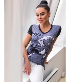 """Bona Fide: V-Shirt """"HeadShot"""""""