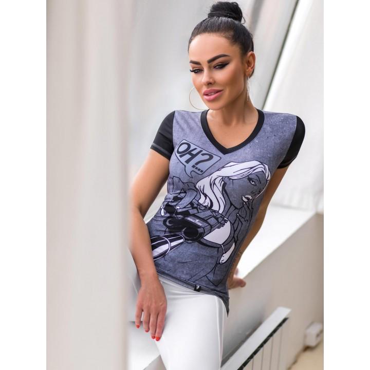 "Майки Bona Fide: V-Shirt ""HeadShot"""